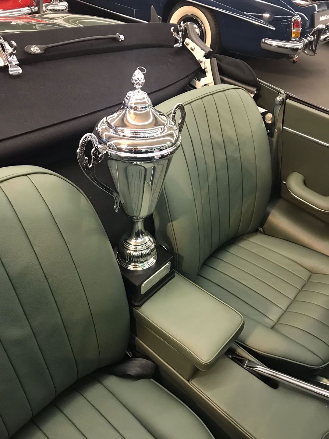 """2nd place in """"Best of the show"""" on the Techno Classica Essen 2018"""