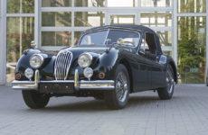 1956 Jaguar XK140DHC SE